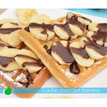 Gaufre Chocolat Banane